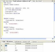 Sql Server Create Table Example How Do I Reseed A Sql Server Identity Column Techrepublic