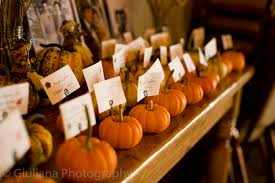 themed place cards pumpkin autumn themed place cards boston wedding photographer