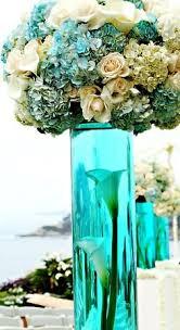 Feather And Flower Centerpieces by 25 Best Turquoise Centerpieces Ideas On Pinterest Teal Wedding