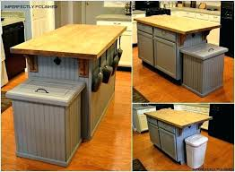 kitchen island trash kitchen island with trash bin kitchen island mobile kitchen island