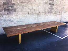 wood slab table legs custom slab tables live edge coffee tables in san diego ca