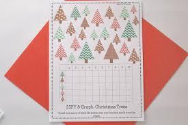 printable christmas graphs christmas trees i spy graph printable school time snippets