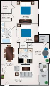 Two Bedroom Apartments Floor Plans Two Bedroom Apartments In Burtonsville Maryland