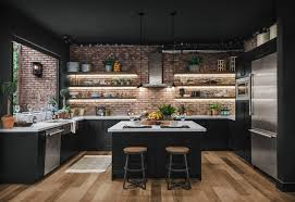 open kitchen cabinet design 29 beautiful black kitchen cabinet ideas to try in 2021