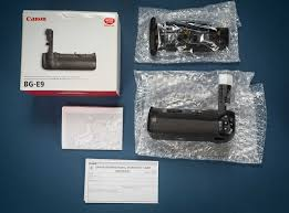 sold canon bg e9 battery grip for canon 60d eos dan mccomb