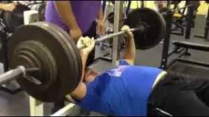 Larry Allen Bench Press Will Geary 400 Lb Raw Bench Press Youtube