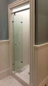 single shower door replacement for walk in shower frameless