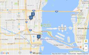 Miami Dade Map Map Of The Miami U0027s Micro Apartment And Condo Projects Analytics