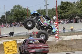 fire trucks monster truck stunt 8 year old kid kj drives monster trucks like a pro deseret news