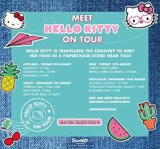 hello kitty writing paper hello kitty tour