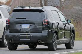 chrysler crossover spyshots 2019 subaru ascent rolls with chrysler pacifica and