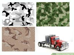 how to camouflage paint 12 steps with pictures wikihow