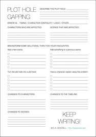 plot hole writing worksheet wednesday worksheets creative