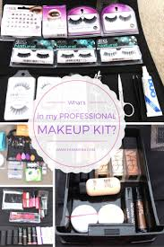 makeup artist handbook what s in my professional makeup kit all the things a