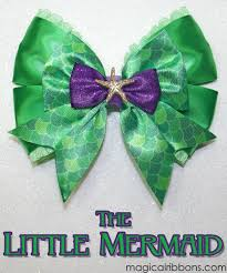 mermaid ribbon the mermaid bow magical ribbons
