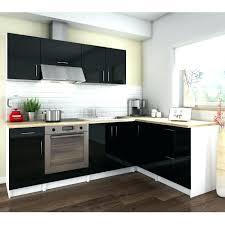meuble de cuisine noir laqué meuble cuisine noir laque pour idees de deco de cuisine fraarche