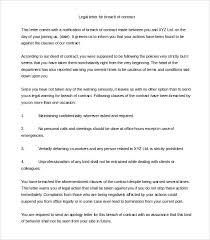 legal letter template u2013 12 free word pdf documents download