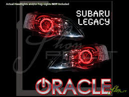 subaru headlight styles 05 09 subaru legacy led halo rings headlights bulbs
