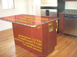 kitchen island electrical outlets kitchen island outlet box home design cool kitchen island electrical