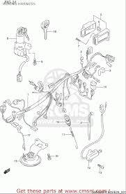wiring harness diagram 97 gsxr 600 suzuki gsxr 600 srad wiring