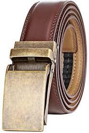 leather slide belts for men amazon com
