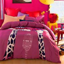 Giraffe Bedding Set Giraffe Print Bedding Set No Quilt 100 Cotton