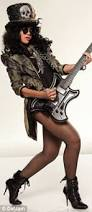 Slash Halloween Costume Rihanna Ready Rock Slash Tribute Costume Daily Mail