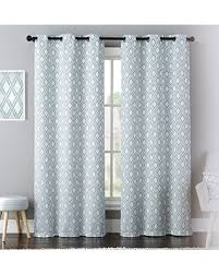 Curtain Pairs Winter Shopping Special United Curtain Mys95blu Mystique Window