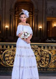 mexican wedding dress white shoulders mexican wedding dress the frida s closet