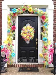73 Best Deco Garland Images by 170 Best Deco Mesh Ideas Images On Pinterest Burlap Wreaths
