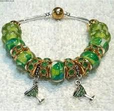 european style charm bracelet images Hot handmade european style 7 5 39 green wine glass charm bracelet jpg