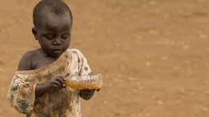 African Kid Meme Clean Water - dirty water life 30ish