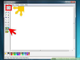 how to shade in microsoft paint with pictures wikihow