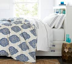 What Is A Duvet Insert Asher Organic Duvet Cover U0026 Sham Gray Pottery Barn