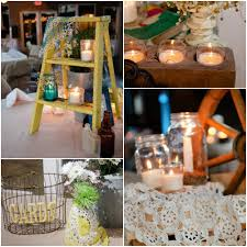 country wedding with vintage decorations rustic wedding chic