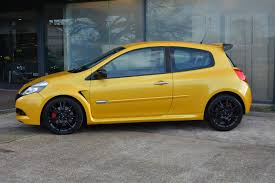 renault yellow used 2010 renault renaultsport clio renaultsport for sale in