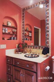best 25 spanish style bathrooms ideas only on pinterest spanish images of mexican decor colorful mexican tile surround the built in mirror