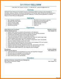 hr resume exles extraordinary human resource resume skills on resources sle hr