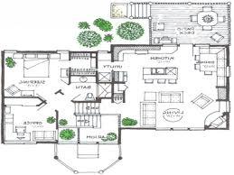 front to back split house back split level house plans