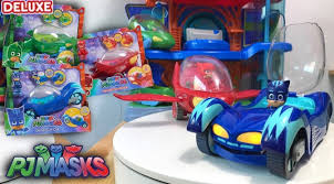 pj masks toys deluxe games huge cars family gamer tv