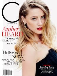 Heard C Magazine Celebrates Decade With Redesign Amber Heard Cover U2013 Wwd