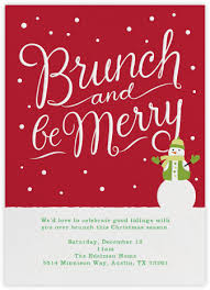 christmas brunch invitations brunch invitations online at paperless post