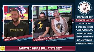 barstool sports no one likes a cocky hardo wiffle ball