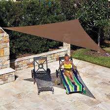 Triangular Patio Awnings Best 25 Triangle Shade Sail Ideas On Pinterest Small Backyard