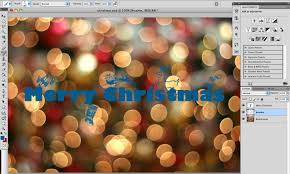 superior how to make a christmas card on photoshop part 12 how