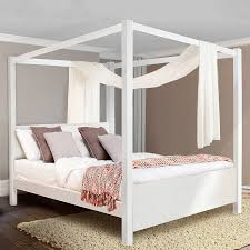 wooden four poster bed frame summer by get laid beds