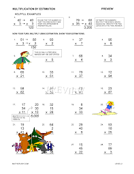estimating and rounding worksheets by math crush