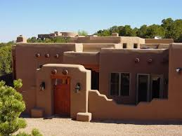 Southwest Style Homes Neat Design Santa Fe Home New Mexico Adobe Southwestern On Ideas