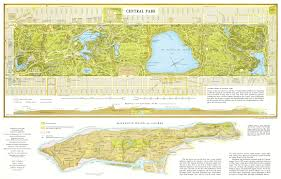 Maps Of New York State by Large Detailed Map Of Central Park Manhattan Nyc Central Park