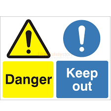 keep out signs access signs safety signs uk safety store